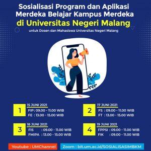 Sosialisasi Program dan Aplikasi MBKM di UM